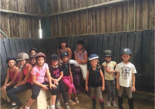 stage d'été équitation